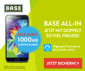 BASE ALL-IN mit 120 Euro Online-Vorteil