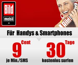 BILDmobil Prepaid Tarif für Handys und Smartphones