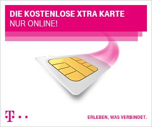 Telekom D1 Xtra Karte nur Online kostenlos