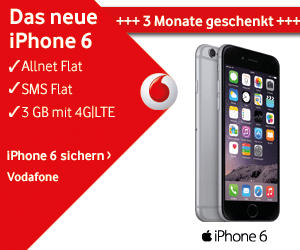 Vodafone Red 3 GB 3 Monate gratis